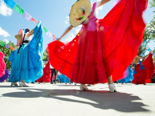 Latino Week will begin with a Folklórico dance performance from 5 to 7 p.m. Tuesday, March 5, at the East Outdoor Stage of NMSU's Corbett Center.