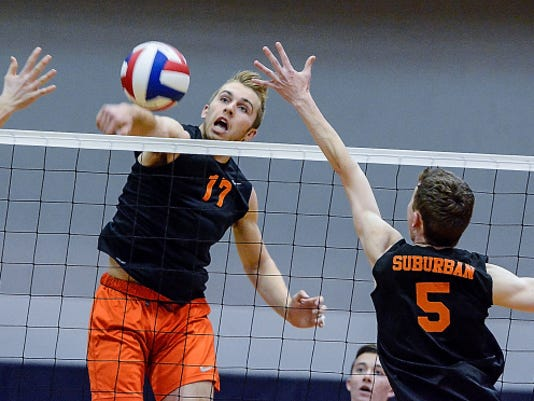 Northeastern's Reese Devilbiss is one of six Class AA all-state boys' volleyball players on the Bobcats' team. The junior is a three-time all-state selection. The all-state team is selected by the Pennsylvania Volleyball Coaches Association.
