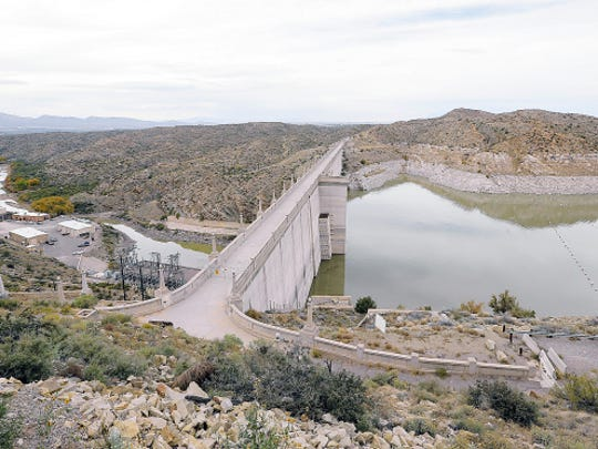 MARK LAMBIE — EL PASO TIMES   The Elephant Butte Dam.