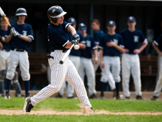 BFA St. Albans vs. Burlington Baseball 05/09/15