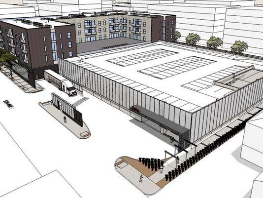 Hy Vee loading dock.JPG