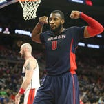 Pistons' Andre Drummond, Stan Van Gundy talk record extension