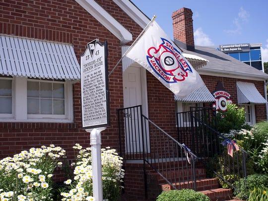 Shoeless Joe Jackson Museum in Greenville.