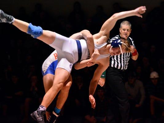 Dallastown vs Spring Grove wrestling