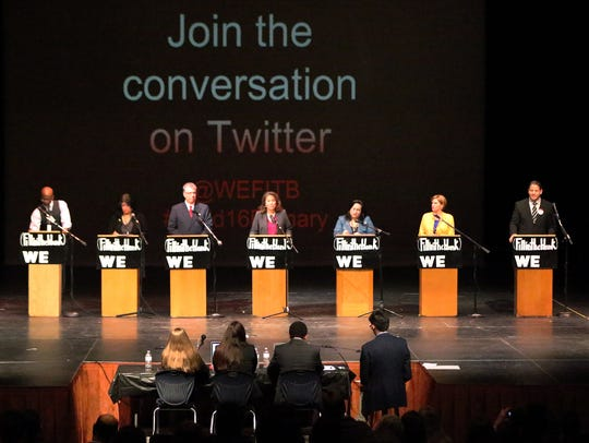 Seven candidates vying for the 16th Congressional District