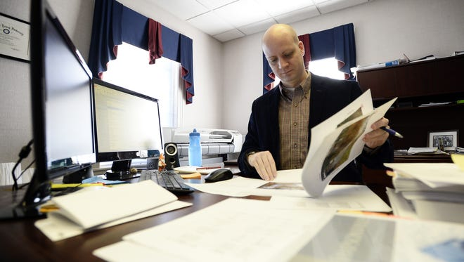 Simpsonville City Administrator David Dyrhaug is taking a position with the city of Mauldin.