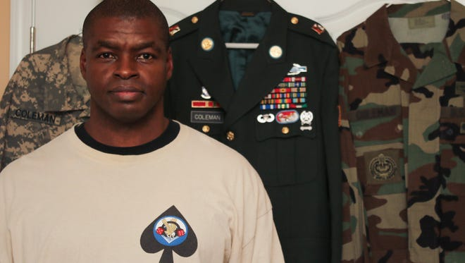 Glen Coleman was a sergeant in the 101st Airborne Division's 1st Brigade Combat Team, 3rd Battalion, 327th Infantry Regiment during the Gulf War.