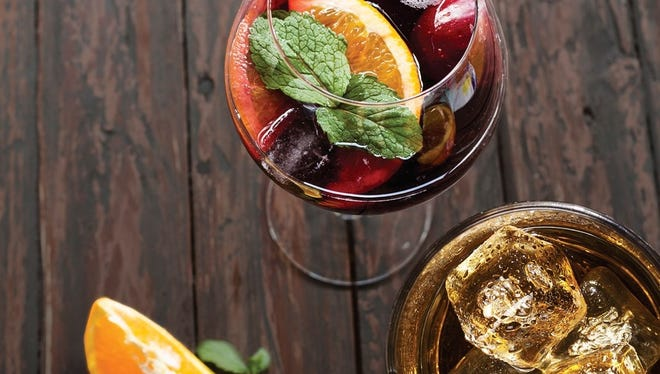 Scotch and sangria event at Sear House in Closter.