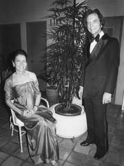Portia and S.M. Moore Jr. dressed to the nines for