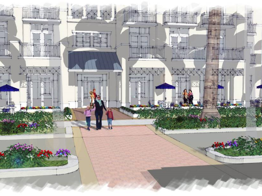 Bonita Springs downtown development rendering 1
