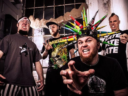 Psychostick brings its brand of humorcore to a heavy