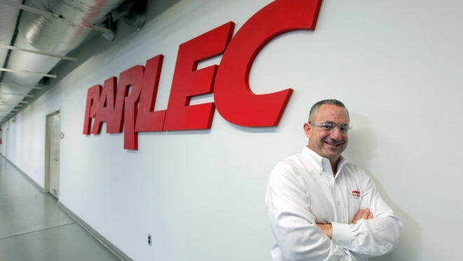 Jay Nuccitelli, vice president of operations at Parlec Inc. in Perinton, in a 2014 file photo.