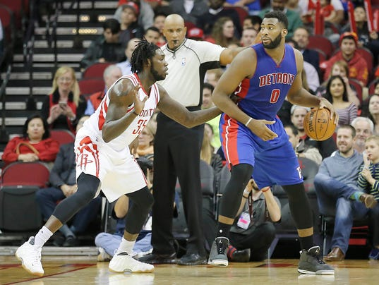 NBA: Detroit Pistons at Houston Rockets