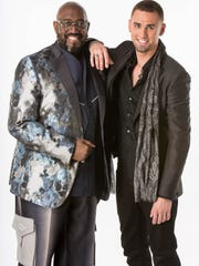 Otis Williams of The Temptations and protege  Kyle Maack, a Berlin Borough native and first  artist Williams signed to his 10/30 International record label.