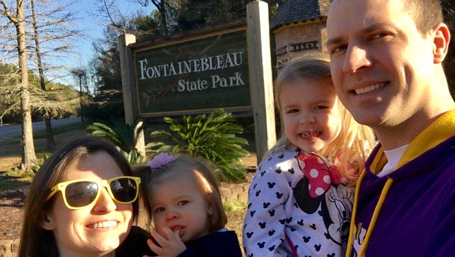 Travel and tourism reporter Leigh Guidry and her family continue their mission to see all 21 Louisiana state parks with a very cold visit to Fontainebleau State Park on Sunday. You can follow along on Instagram at @thedailyadvertiser or at theadvertiser.com