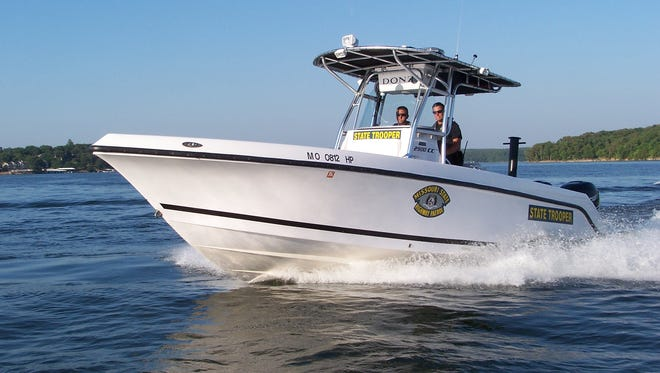 A file photo of a Missouri State Highway Patrol boat.