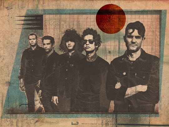 At the Drive-In will play at Neon Desert Music Festival.