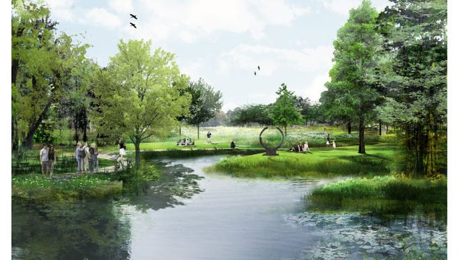 Construction on Moncus Park at the Horse Farm in Lafayette is expected to begin in fall 2017.