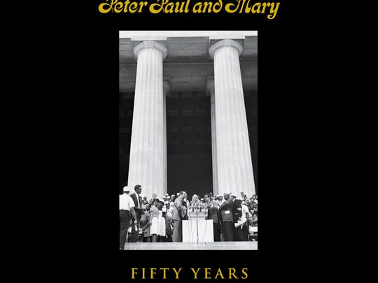"""Peter Yarrow and Noel """"Paul"""" Stookey of the folk-music trio Peter Paul and Mary will visit the historic Darress Theatre to sign copies of their new book, """"Peter, Paul and Mary: 50 Years in Music and Life."""""""