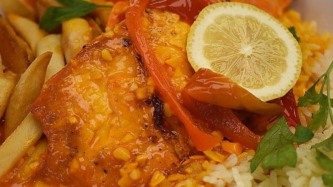 Chicken Mozambique at Piri Piri Kitchen in Somerset.
