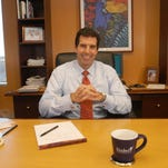 Paul Diaz in 2004, when he became the new CEO of Kindred Healthcare. Diaz joined the company in January 2002.