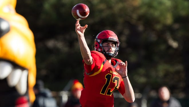 Trevor Bermingham joins Reggie Bell as one of Ferris State's two dual-threat quarterbacks.