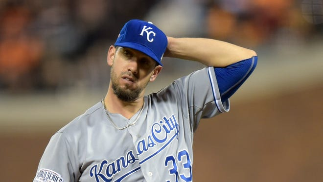 James Shields has not won a postseason game this October.