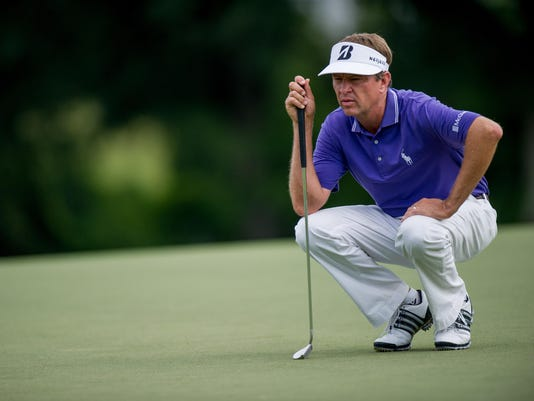 PGA: Wyndham Championship-First Round