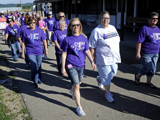 So far, the Ross County Relay for Life teams have raised nearly $40,000 toward a goal of $76,000 by Aug. 31 for cancer research. This year's Relay is at 6 p.m. Friday.