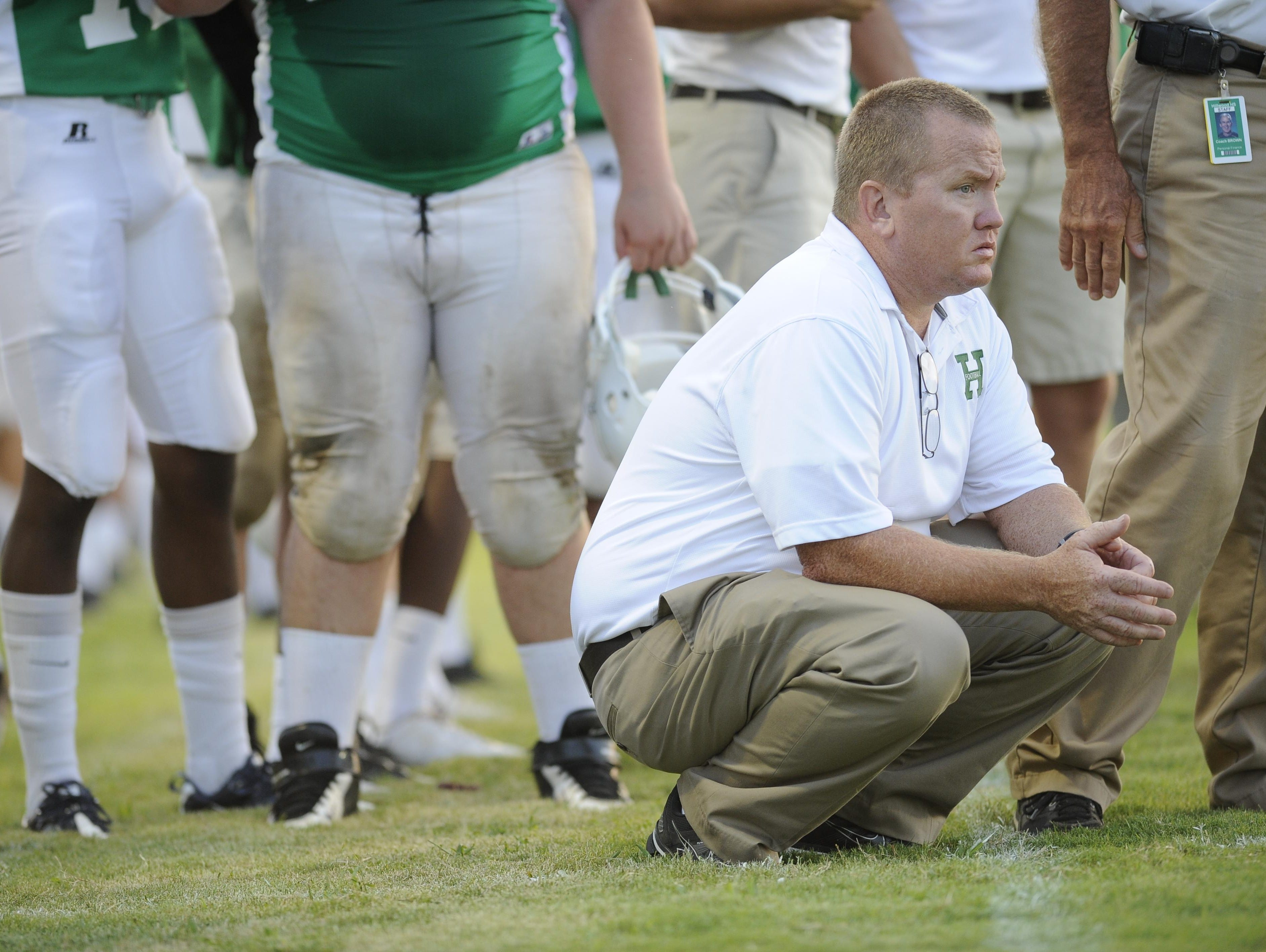 Former Hillwood football coach Taylor Burks has joined Oakland's coaching staff.