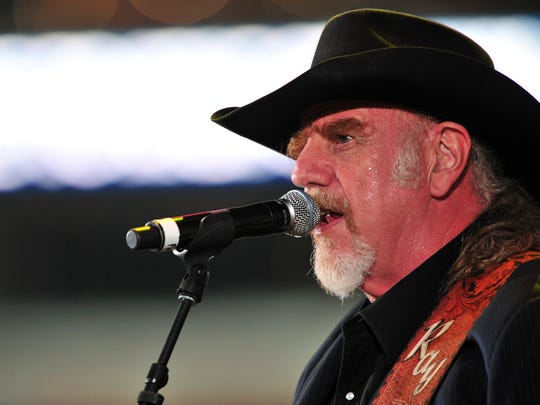Ray Benson of Asleep at the Wheel performs onstage at George Strait's 'The Cowboy Rides Away Tour' final stop at AT&T Stadium at AT&T Stadium on June 7, 2014 in Arlington, Texas.