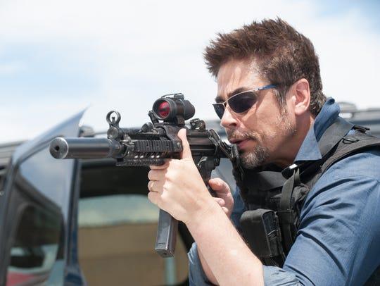 """Benicio Del Toro stars as Alejandro in """"Sicario."""""""