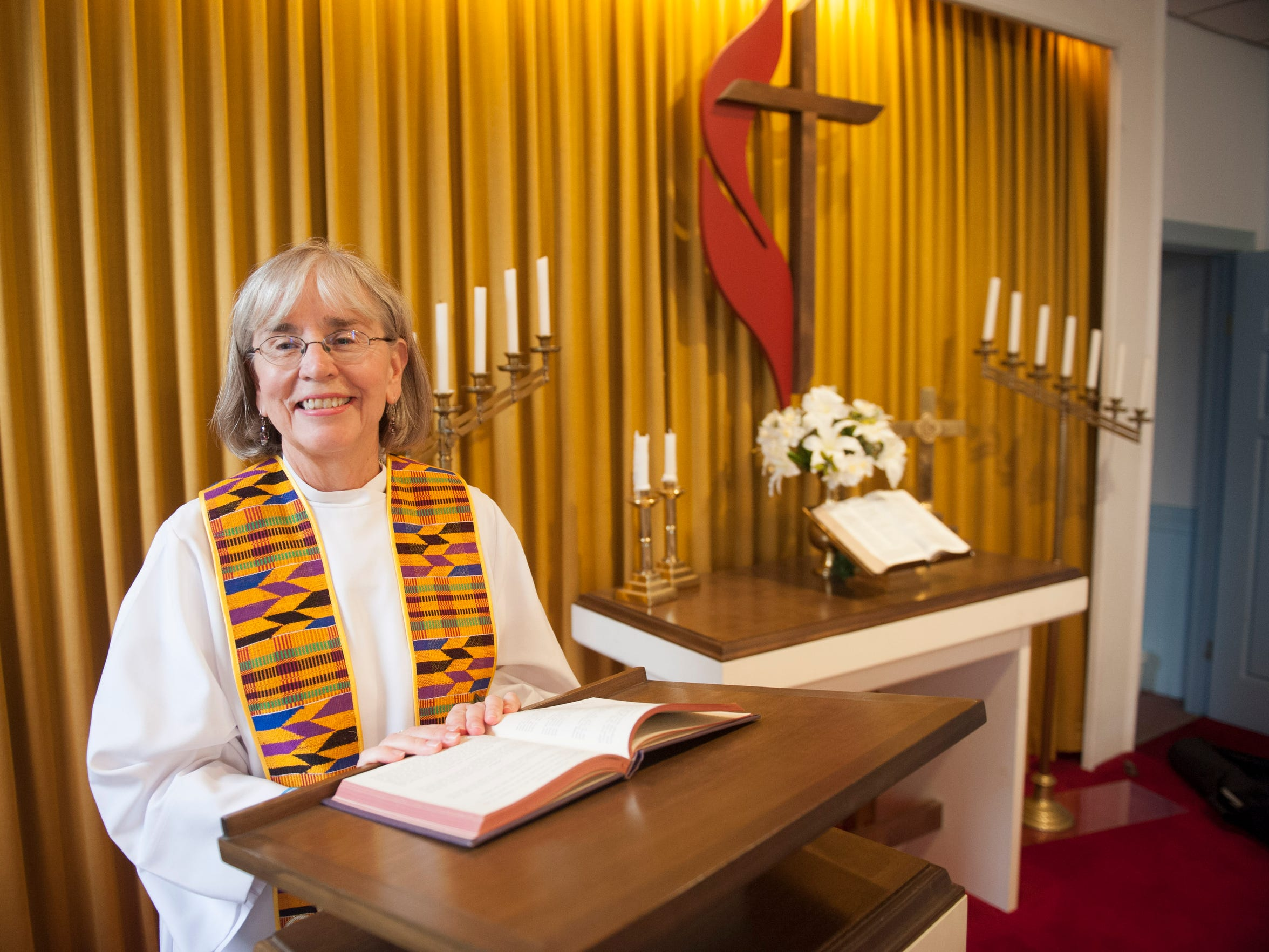 Eileen DiFranco calls herself a Roman Catholic priest, though women are not recognized as such by the Church. She and four other ordained women priests will take turns leading a small congregation in Palmrya, starting this Sunday. Wednesday, September 30, 2015.