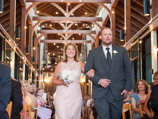 Providence Hill Farm often hosts weddings and large