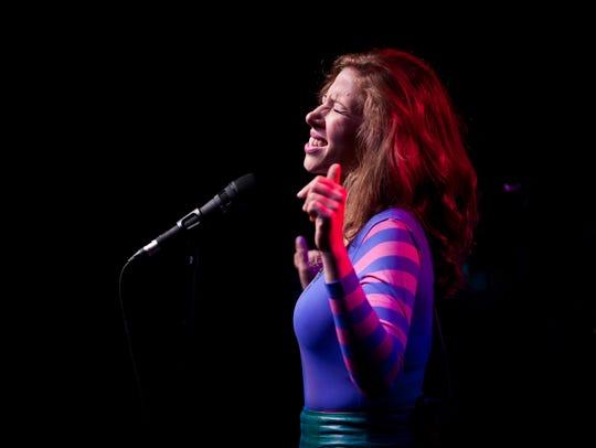 Rachael Price of Lake Street Dive sings during the