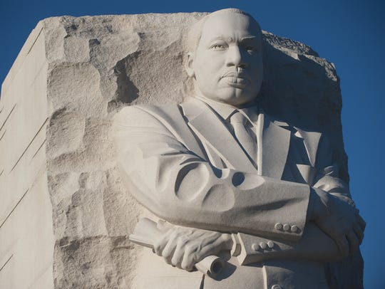 Martin Luther King Jr. is honored with a memorial on