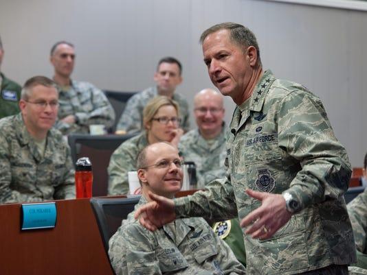 CSAF Goldfein addresses Commanders courses