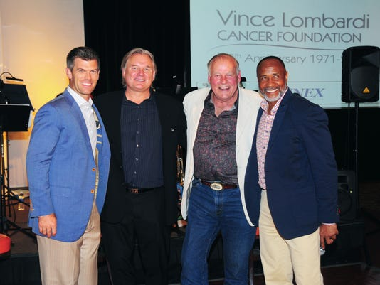 Jerry Kramer at a Vince Lombardi Cancer Foundation Q&A session.