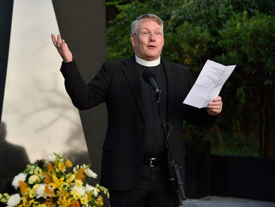 Father Mark R. Collins of the All Saints Episcopal
