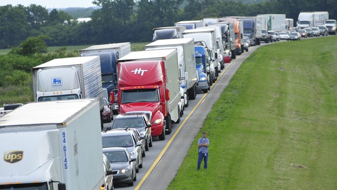 Memorial Day weekend is one of the worst times for traffic, according to the Pennsylvania Turnpike Commission.