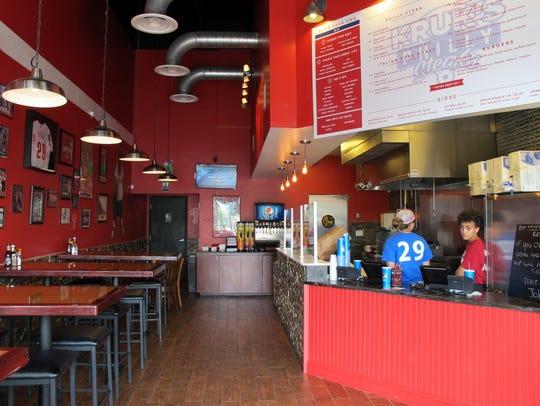 Kruk's Philly Steaks opened March 30 at Naples Boulevard
