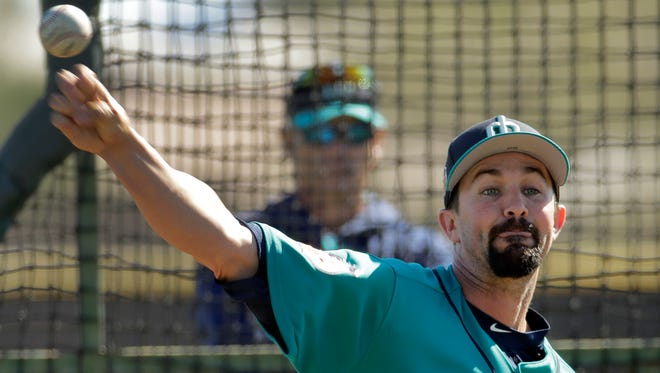 The Mariners expect Nick Vincent to fill a key role in the bullpen this season.