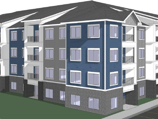 South Dakota-based Lloyd Companies plans to build an apartment and townhouse complex called Park88 west of Jordan Creek Town Center.