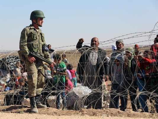 APTOPIX Turkey Syria Refugees