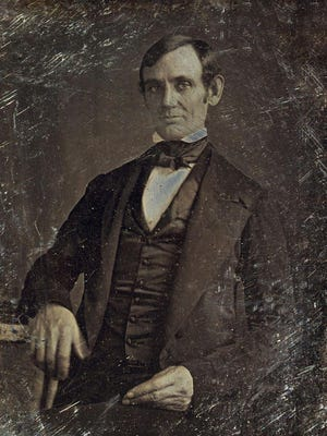 Abraham Lincoln about 1846.