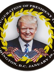 You can buy this 3-inch inauguration day button from