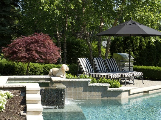 Pools, while once a must have, are now not as commonly