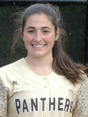 Cedar Grove pitcher Mia Faieta