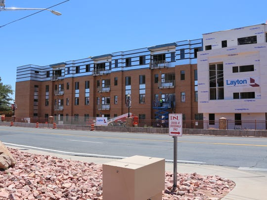 Dixie State University's newest on-campus housing complex,