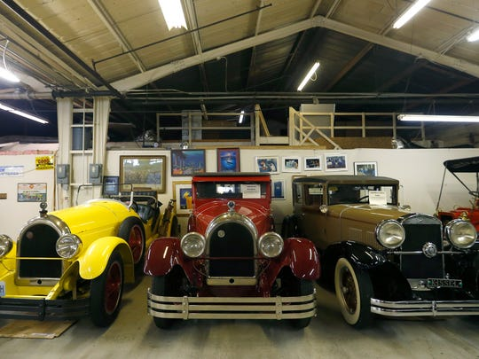 Guy Mace's collection includes three Kissels built